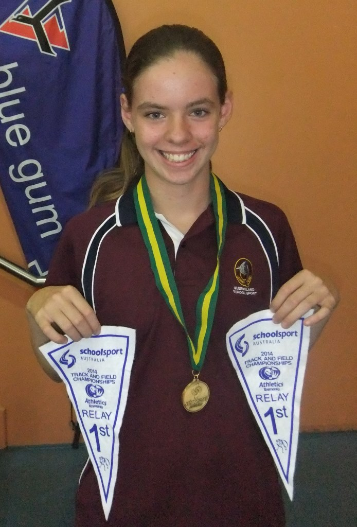 Australian Nationals Athletics Champion - Lily Burns